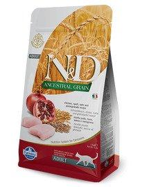FARMINA N&D Low Ancestral Grain Chicken & Pomegranate Adult Cat 5 kg